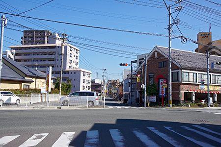 昭和町交差点西側画像