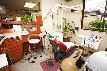 武石歯科医院診察室画像02