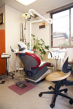 武石歯科医院診療用チェアー(ドイツ製シロナ)と快気眠シート画像